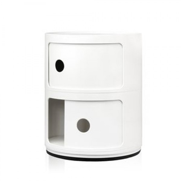 COMPONIBILI ROUND 2 DRAWERS - STAND ALONE